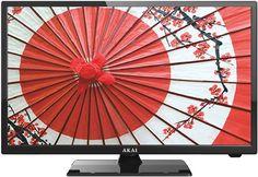 "LED телевизор AKAI LEA-24V60P ""R"", 23.6"", FULL HD (1080p), черный"