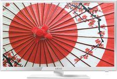 "LED телевизор AKAI LEA-24V61W ""R"", 23.6"", FULL HD (1080p), белый"
