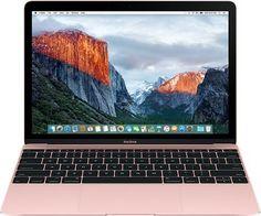 """Ноутбук APPLE MacBook MNYM2RU/A, 12"""", Intel Core M3 7Y32 1.2ГГц, 8Гб, 256Гб SSD, Intel HD Graphics 615, Mac OS X Sierra, MNYM2RU/A, розовый"""