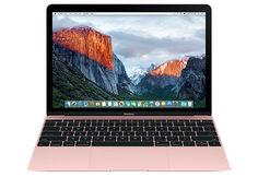 "Ноутбук APPLE MacBook MNYN2RU/A, 12"", Intel Core i5 7Y54 1.3ГГц, 8Гб, 512Гб SSD, Intel HD Graphics 615, Mac OS X, MNYN2RU/A, розовый"