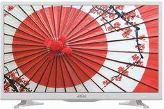 """LED телевизор AKAI LEA-24A65W """"R"""", 23.6"""", HD READY (720p), белый"""