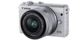 Фотоаппарат CANON EOS M100 kit ( 15-45 IS STM), белый [2210c012]