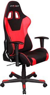 Кресло игровое DXRACER Formula GC-F101-NR-D3, на колесиках, текстиль/эко.кожа [oh/fd101/nr]