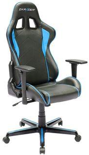 Кресло игровое DXRACER Formula GC-F08-NB-H3, на колесиках, эко.кожа [oh/fh08/nb]