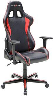 Кресло игровое DXRACER Formula GC-F08-NR-H3, на колесиках, эко.кожа [oh/fh08/nr]