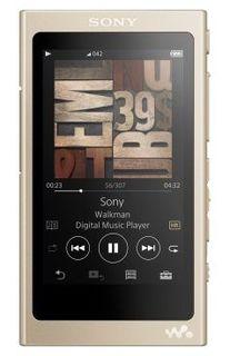 MP3 плеер SONY NW-A45 flash 16Гб золотистый [nwa45n.ee]