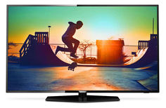 "LED телевизор PHILIPS 55PUT6162/60 ""R"", 55"", Ultra HD 4K (2160p), черный"