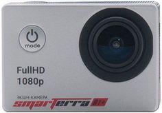 Экшн-камера SMARTERRA B1+ 1080p, серебристый [bsb1psl]