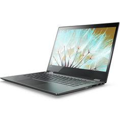 """Ноутбук-трансформер LENOVO Yoga 520-14IKBR, 14"""", Intel Core i5 8250U 1.6ГГц, 8Гб, 1000Гб, Intel HD Graphics 620, Windows 10, 81C8003SRK, черный"""
