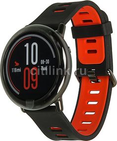 """Смарт-часы XIAOMI Amazfit PACE, 1.34"""", черный / черный [xm6970100370331]"""