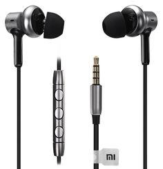 Наушники XIAOMI Mi in-Ear Pro HD, вкладыши, серебристый/черный, проводные