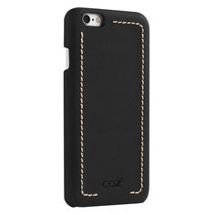 Чехол (клип-кейс) Cozistyle Leather Chrome, для Apple iPhone 6 Plus/6S Plus, черный [clwc6+010] Noname