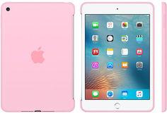 Чехол для планшета APPLE Silicone Case, светло-розовый, для Apple iPad mini 4 [mm3l2zm/a]