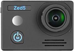Экшн-камера AC ROBIN ZED5 UHD 4K, WiFi, черный