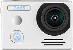 Экшн-камера AC ROBIN ZED5 UHD 4K, WiFi, серебристый