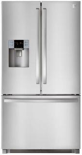 Холодильник DAEWOO RF64EDG, двухкамерный, серебристый