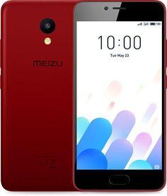 Смартфон MEIZU M5c 32Gb, M710H, красный