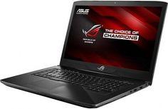 """Ноутбук ASUS ROG GL703VD-GC147, 17.3"""", Intel Core i5 7300HQ 2.5ГГц, 8Гб, 1000Гб, 128Гб SSD, nVidia GeForce GTX 1050 - 4096 Мб, noOS, 90NB0GM2-M03010, черный"""
