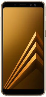 Смартфон SAMSUNG Galaxy A8 (2018) SM-A530F, золотистый