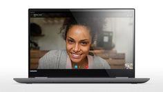 "Ноутбук-трансформер LENOVO Yoga 720-15IKB, 15.6"", Intel Core i7 7700HQ 2.8ГГц, 8Гб, 256Гб SSD, nVidia GeForce GTX 1050 - 4096 Мб, Windows 10, 80X70035RK, серый"