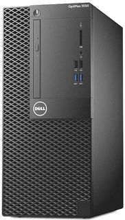 Компьютер DELL Optiplex 3050, Intel Core i3 6100, DDR4 4Гб, 500Гб, Intel HD Graphics 530, DVD-RW, Windows 10 Professional, черный [3050-6317]