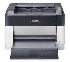 Принтер лазерный KYOCERA FS-1040+ТК1110 + картридж, лазерный, цвет: белый [1102m23ru0 / tk1110]