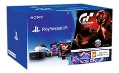 Очки виртуальной реальности SONY PlayStation VR CUH-ZVR1 GT SPORT, черный/серебристый [ps719951162]