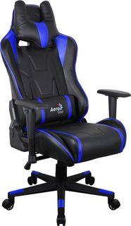 Кресло игровое AEROCOOL AC220 AIR-BB, ПВХ/полиуретан [516388]