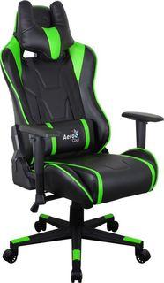 Кресло игровое AEROCOOL AC220 AIR-BG, ПВХ/полиуретан [516394]