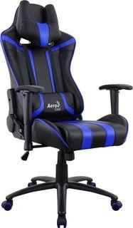Кресло игровое AEROCOOL AC120 AIR-BB, ПВХ/полиуретан [516670]