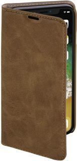 Чехол (флип-кейс) HAMA Guard Case 00181390, для Apple iPhone X, коричневый
