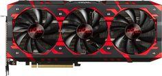 Видеокарта POWERCOLOR AMD Radeon RX Vega 64 , AXRX VEGA 64 8GBHBM2-2D2H/OC, 8Гб, HBM2, OC, Ret