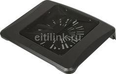 "Подставка для ноутбука Deepcool N300 15.6""340x266x57мм 23дБ 1xUSB 1x 200ммFAN 558г алюминиевая сетка"