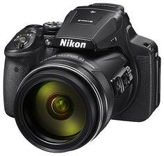 Цифровой фотоаппарат NIKON CoolPix P900, черный
