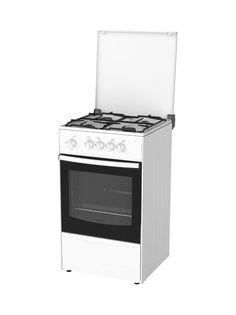 Газовая плита DARINA 1A GM 441 002 W, газовая духовка, белый