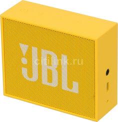 Портативная колонка JBL GO, 3Вт, желтый [jblgoyel]