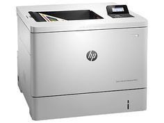 Принтер лазерный HP Color LaserJet Enterprise M553dn лазерный, цвет: белый [b5l25a]