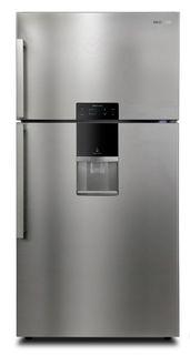 Холодильник DAEWOO FGK56EFG, двухкамерный, серебристый