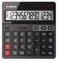 Калькулятор CANON AS-240, 14-разрядный, черный