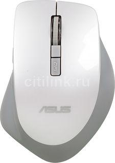 Мышь ASUS WT425 оптическая беспроводная USB, белый [90xb0280-bmu010]