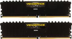 Модуль памяти CORSAIR Vengeance LPX CMK16GX4M2A2666C16 DDR4 - 2x 8Гб 2666, DIMM, Ret