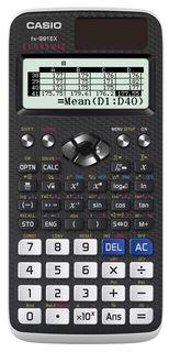 Калькулятор CASIO Classwiz, FX-991EX, 10+2-разрядный, черный