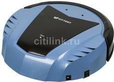 Робот-пылесос KITFORT КТ-511-2, 15Вт, синий/черный