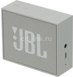 Портативная колонка JBL GO, 3Вт, серый [jblgogray]