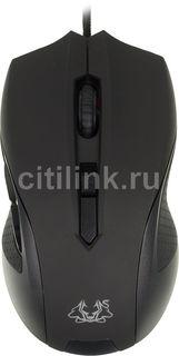 Мышь ASUS Cerberus оптическая проводная USB, черный и красный [90yh00q1-baua00]