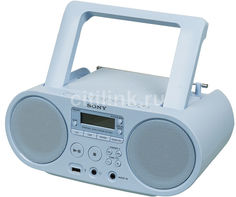 Аудиомагнитола SONY ZS-PS50, голубой