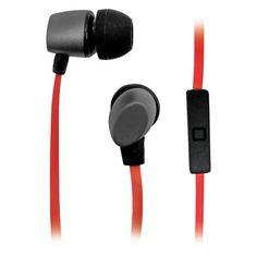 Гарнитура BBK EP-1560S, вкладыши, серый/оранжевый, проводные