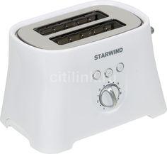 Тостер STARWIND SET4571, белый