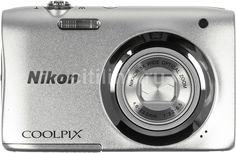 Цифровой фотоаппарат NIKON CoolPix A100, серебристый