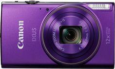 Цифровой фотоаппарат CANON IXUS 285HS, фиолетовый